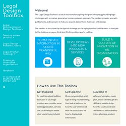 a project of the Program for Legal Tech & Design