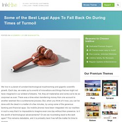 Some of the Best Legal Apps To Fall Back On During Times of Turmoil