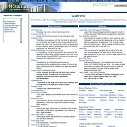 Legal Forms– WashLaw Web