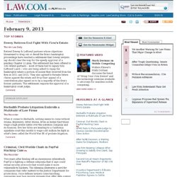 Legal News and Newswire | Law.com