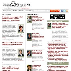 LegalNewsline | state attorney general news, state supreme court news