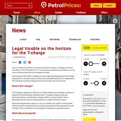 Legal trouble on the horizon for the T-charge