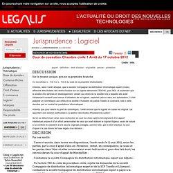 Cour de cassation Chambre civile 1 Arrêt du 17 octobre 2012