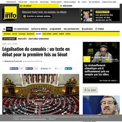 Légalisation du cannabis : un texte en débat pour la première fois au Sénat