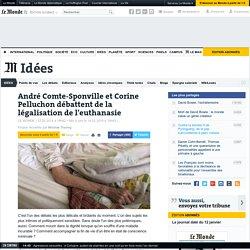 André Comte-Sponville et Corine Pelluchon débattent de la légalisation de l'euthanasie