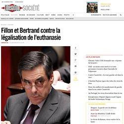 Fillon et Bertrand contre la légalisation de l'euthanasie