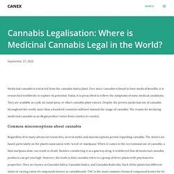 Cannabis Legalisation: Where is Medicinal Cannabis Legal in the World?