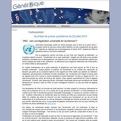 ONU : vers une légalisation universelle de l'avortement ?