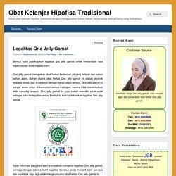Legalitas Qnc Jelly Gamat