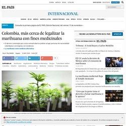 Colombia, más cerca de legalizar la marihuana con fines medicinales