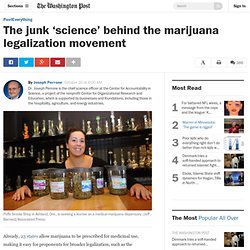 The junk 'science' behind the marijuana legalization movement