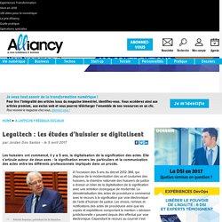 Legaltech: les études d'huissier se digitalisent