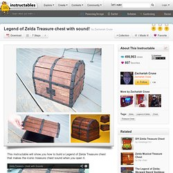 Legend of Zelda Treasure chest with sound!