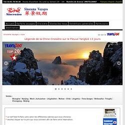 Légende de la Chine Croisière sur le Fleuve Yangtzé 13 jours - Sinorama Voyages