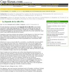 La légende de la ville d'Ys - Articles du Cap-Sizun