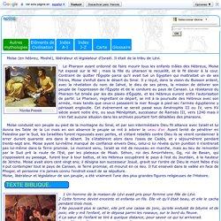 Légendes bibliques : Moïse