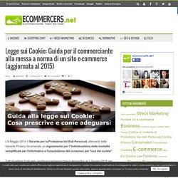Legge sui cookie: guida alla messa a norma di un sito web.