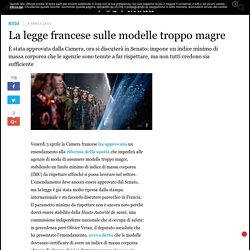 La legge francese sulle modelle troppo magre