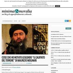 """Cose che ho notato leggendo """"Il Califfato del terrore"""" di Maurizio Molinari"""