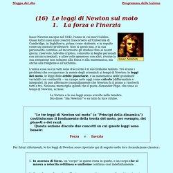 Le leggi di Newton sul moto - 1. La forza e l'inerzia