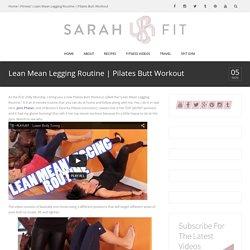 Lean Mean Legging Routine