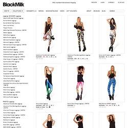 black milk clothing - examples of digital prints