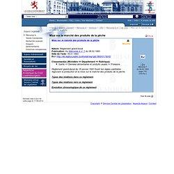 LUXEMBOURG - Règlement grand-ducal du 18 janvier 1993 fixant les règles sanitaires régissant la production et la mise sur le mar