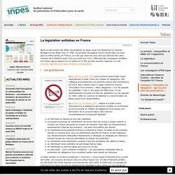 Tabac - La législation antitabac en France