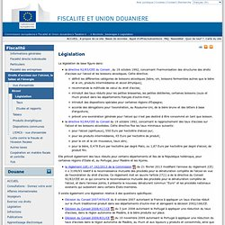 Législation - European commission