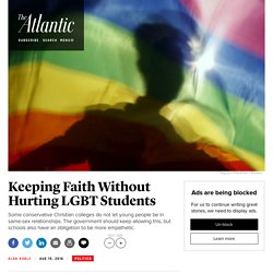 8/15/16: California Legislation to Eliminate Christian Colleges' Exemptions to LGBT Discrimination Fails, but It's Not the End of the Issue
