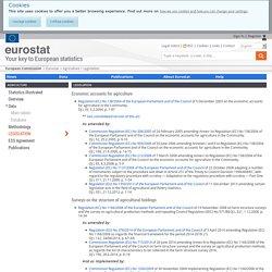 Legislation - Eurostat