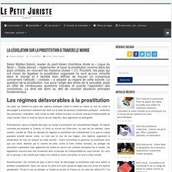 La législation sur la prostitution à travers le monde - Le petit juriste