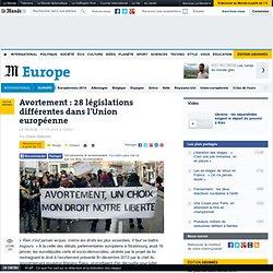 Avortement : 28 législations différentes dans l'Union européenne