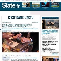 L'UMP a remporté la législative à Villeneuve-sur-Lot face au FN
