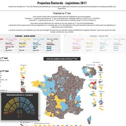 Legislatives 2017 - Prévisions
