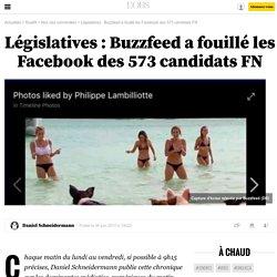 Législatives : Buzzfeed a fouillé les Facebook des 573 candidats FN