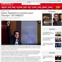 Grèce: législatives cruciales pour l'Europe - EN DIRECT - 25/01/2015 - LaDepeche.fr