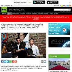 Législatives : la France insoumise annonce qu'il n'y aura pas d'accord avec le PCF