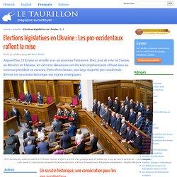 Elections législatives en Ukraine : Les pro-occidentaux raflent la mise