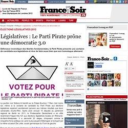 Législatives : Le Parti Pirate prône une démocratie 3.0