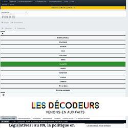 Législatives : au FN, la politique en famille ne concerne pas que les Le Pen