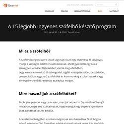 A 15 legjobb ingyenes szófelhő készítő program - Usernet