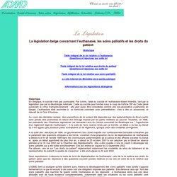 Léglisation : QUESTIONS ET RÉPONSES SUR LA LOI DE DÉPÉNALISATION DE L'EUTHANASIE