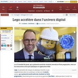 Lego accélère dans l'univers digital