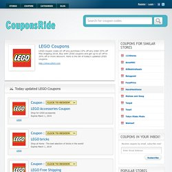 Lego Coupon Code $5 Off