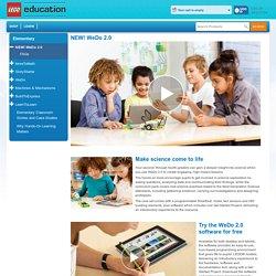 Elementary - NEW! WeDo 2.0