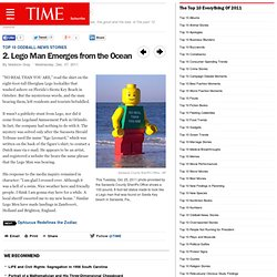 Lego Man Emerges from the Ocean - The Top 10 Everything of 2011