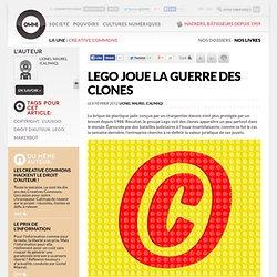 Lego joue la guerre des clones