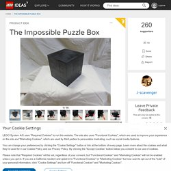LEGO IDEAS - - The Impossible Puzzle Box