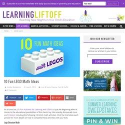 10 Fun LEGO Math Ideas - Learning Liftoff